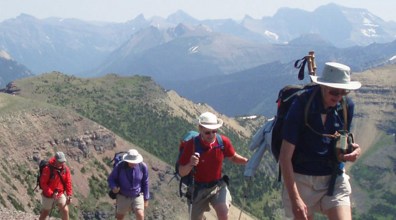multi day guided hiking trip portland