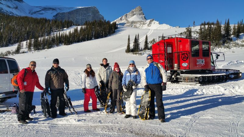 Kananaskis Snowshoeing Adventure at Fortress Mountain